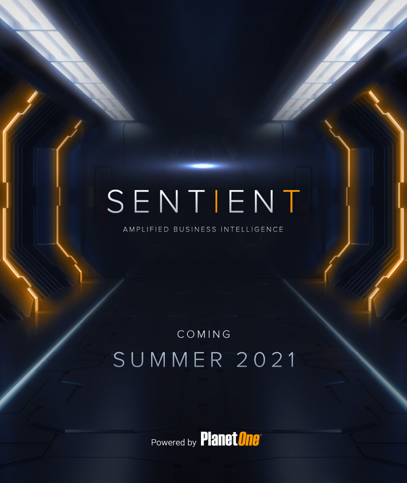 SENTIENT   Powered by PlanetOne